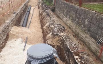 Nastavak radova- kanalizacijski sustav Gruda